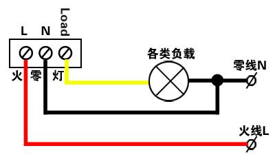换气扇开关的接线图解